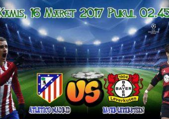 Prediksi Skor Atl.Madrid vs Leverkusen 16 Maret 2017