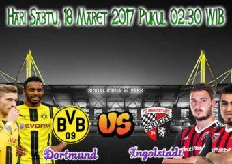Prediksi Skor Dortmund vs Ingolstadt 18 Maret 2017