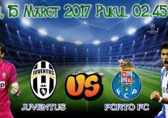 Prediksi Skor Juventus vs Porto 15 Maret 2017