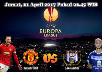 Prediksi Skor Manchester United vs Anderlecht 21 April 2017