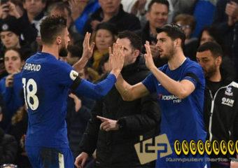 Olivier Giroud Tegaskan Striker Chelsea Bukan Hazard