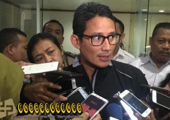 Sandiaga Uno Sarankan Anies Tak Maju Pilpres 2019