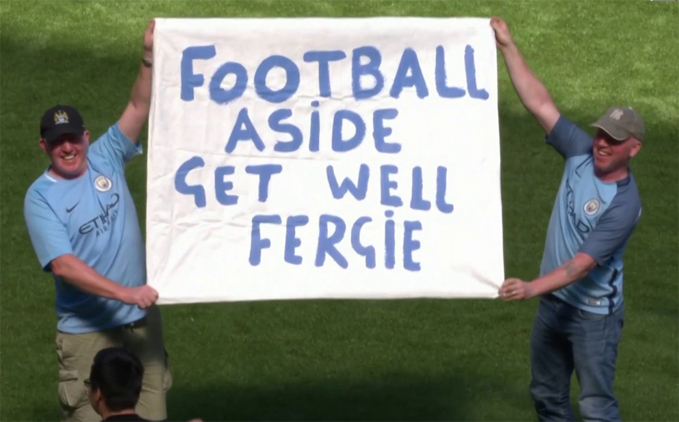 Football Aside Get Well Fergie