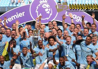 Manchester City Angkat Trofi Piala Premier League